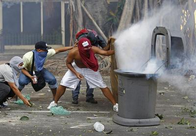 Unrest spreads in Venezuela