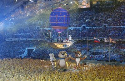 Closing ceremony in Sochi