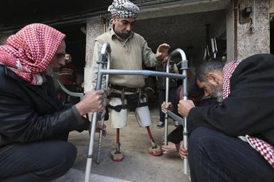 New limb, new life in Syria