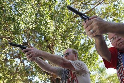 Backyard gun range