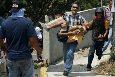 A month of unrest in Venezuela