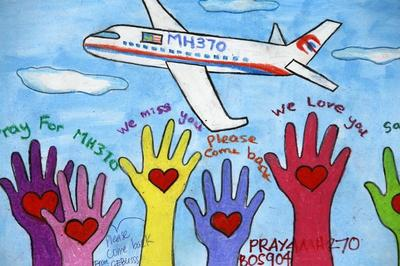 Messages for MH370