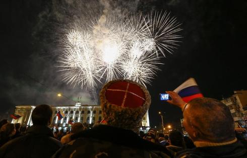 Crimea annexed