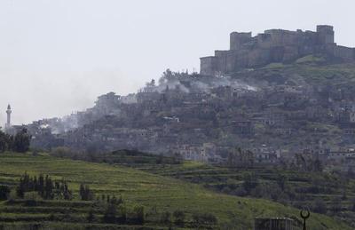 Crusader castle captured