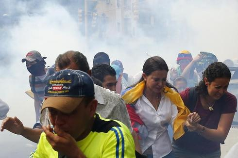 March on the Venezuelan Congress