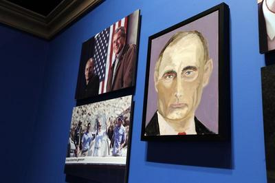Portraits by George W. Bush