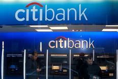 Citigroup va débourser 1,125 milliard de dollars pour mettre un terme à un contentieux l'opposant à des investisseurs institutionnels au sujet de prêts immobiliers titrisés (RMBS).   /Photo d'archives/REUTERS/Keith Bedford