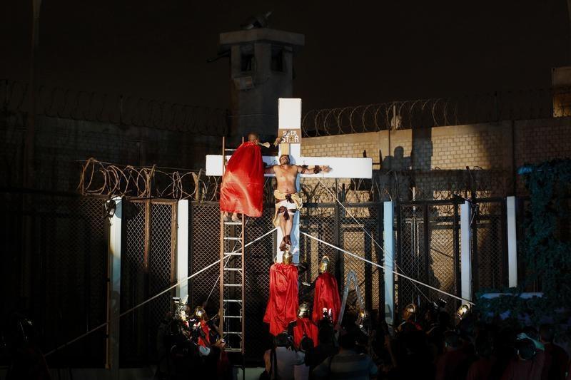 Jesus Christ Superstar behind bars