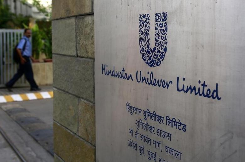 A man arrives at the Hindustan Unilever Limited (HUL) headquarters in Mumbai May 14, 2013. REUTERS/Danish Siddiqui/Files