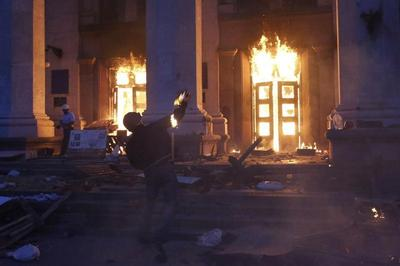 Unrest spreads to Odessa