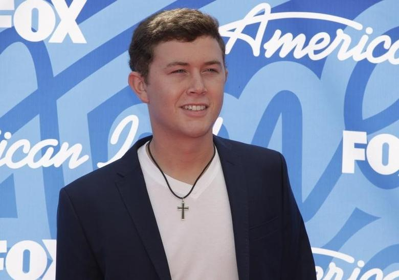 American Idol season 10 winner Scotty McCreery arrives at the Season 12 finale of ''American Idol'' in Los Angeles, Calfiornia May 16, 2013.   REUTERS/Jonathan Alcorn