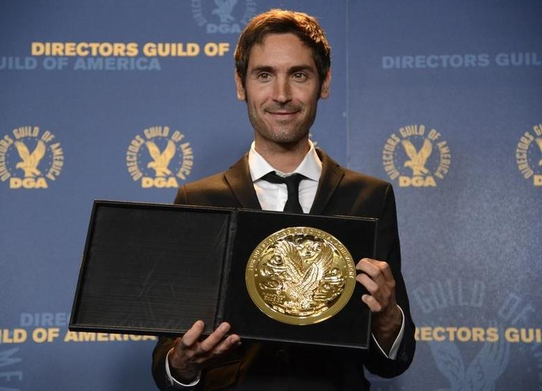 Documentary award recipient Malik Bendjelloul poses at the 65th annual Directors Guild of America Awards in Los Angeles February 2, 2013. REUTERS/Phil McCarten