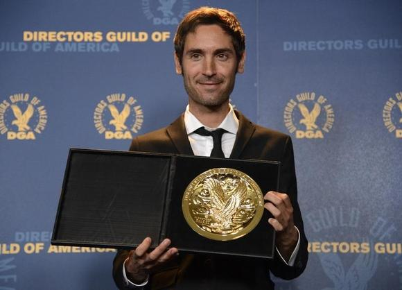 Documentary award recipient Malik Bendjelloul poses at the 65th annual Directors Guild of America Awards in Los Angeles February 2, 2013. REUTERS/Phil McCarten/Files