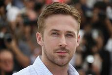 """Director Ryan Gosling poses during a photocall for the film """"Lost River"""" in competition for the category """"Un Certain Regard"""" at the 67th Cannes Film Festival in Cannes May 20, 2014.    REUTERS/Yves Herman"""