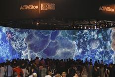 Selon Activision Blizzard, Vivendi va céder 41,5 millions d'actions de l'éditeur américain de jeux vidéo dans le cadre de la vente annoncée en juillet dernier. /Photo d'archives/REUTERS/Ina Fassbender