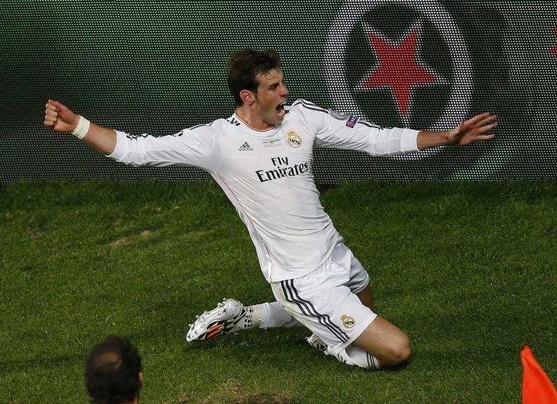 FUTBOL-Bale escribe su nombre en la historia del Real Madrid