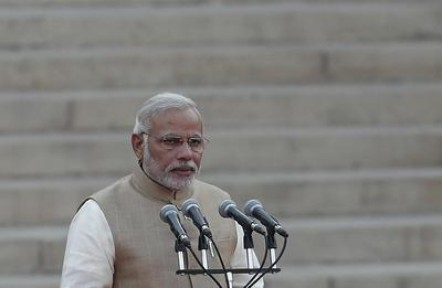 Modi takes oath as PM