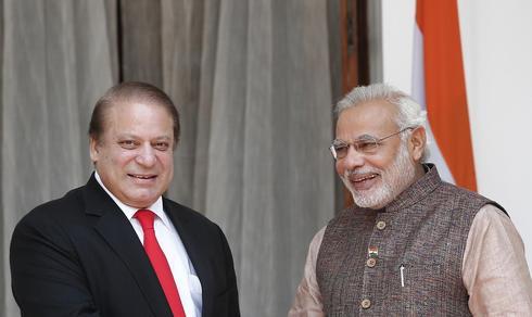 PM Modi meets neighbours