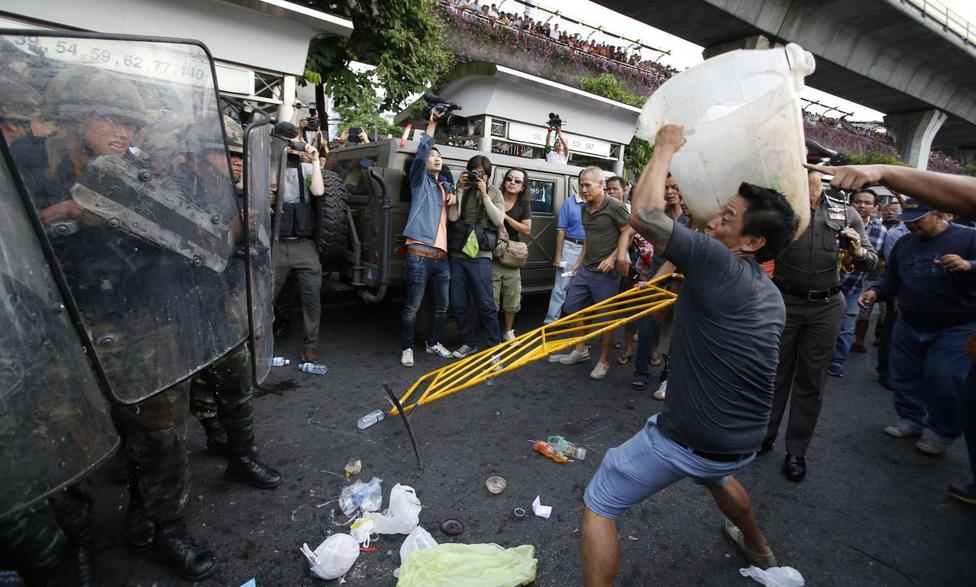 Coup protests in Thailand
