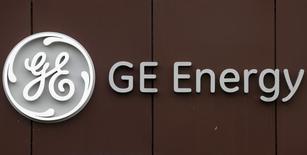 Imagen de archivo de la planta de la firma General Electric en Belfort, Francia, abr 27 2014. El conglomerado estadounidense General Electric fortaleció el miércoles su posición en la batalla por el brazo de energía del grupo francés Alstom al prometer la creación de 1.000 empleos en Francia y conseguir que París reconociera que su oferta había mejorado.       REUTERS/Vincent Kessler