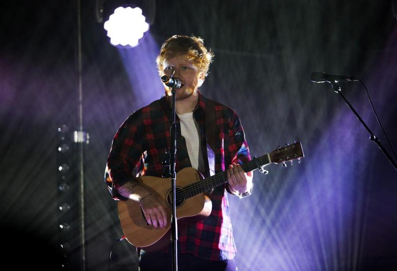 Singer Ed Sheeran performs at the 2014 Wango Tango concert at StubHub Center in Carson, California May 10, 2014.   REUTERS/Mario Anzuoni