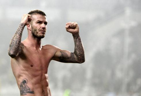Athletes with tattoos