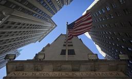 La hausse du marché obligataire américain en a surpris plus d'un à Wall Street mais la statistique de l'emploi et la réunion de la BCE de la semaine prochaine détermineront si les obligations ont encore du champ devant elles. /Photo d'archives/REUTERS/Carlo Allegri