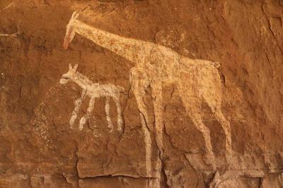 Vandals destroy prehistoric rock art in Libya's...