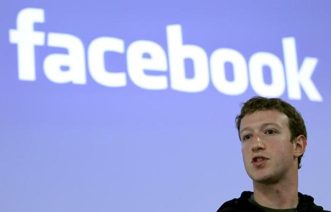 Facebook CEO Mark Zuckerberg speaks during a news conference at Facebook headquarters in Palo Alto, California May 26, 2010.  REUTERS/Robert Galbraith/Files