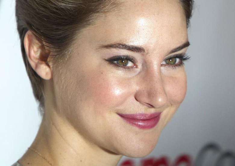 Actress Shailene Woodley arrives for a 20th Century Fox presentation of ''The Fault in Our Stars'' in Las Vegas, Nevada in this March 27, 2014 file photo.  REUTERS/Steve Marcus/Files
