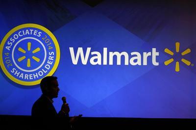 Inside Walmart