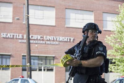 Gunman kills one, three wounded at Christian college...
