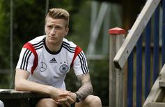 Meia da seleção alemã Marco Reus, em foto de arquivo. 25/05/2014 REUTERS/Ina Fassbender