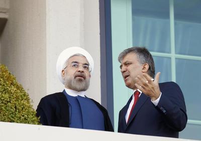 Iran's Rouhani in Turkey says tackling 'terrorism' a...