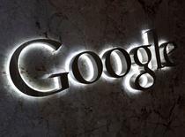 El logo de Google en las oficinas de la firma en Toronto, sep 5 2013. Google dijo que martes que está comprando la empresa de satélites Skybox Imaging por 500 millones de dólares en efectivo. REUTERS/Chris Helgren