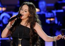 British singer Sarah Brightman performs at the 5th Annual Holiday Tree Lighting at L.A. Live in Los Angeles, California November 28, 2012 FILE PHOTO. REUTERS/Gus Ruelas