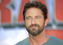 "British actor Gerard Butler arrives at the premiere of ""How To Train Your Dragon 2"" in Los Angeles, California, June 8, 2014. REUTERS/Gus Ruelas"