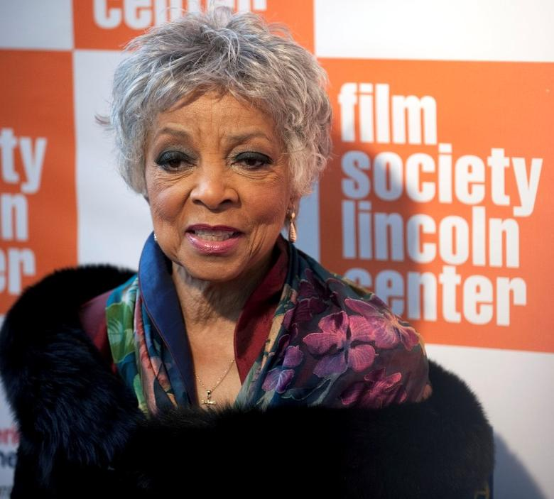 Actress Ruby Dee arrives at The Film Society's Annual Gala Presentation of the 38th Annual Chaplin Award  honoring award-winning actor Sidney Poitier in New York City May 2, 2011.  REUTERS/Stephen Chernin/Files