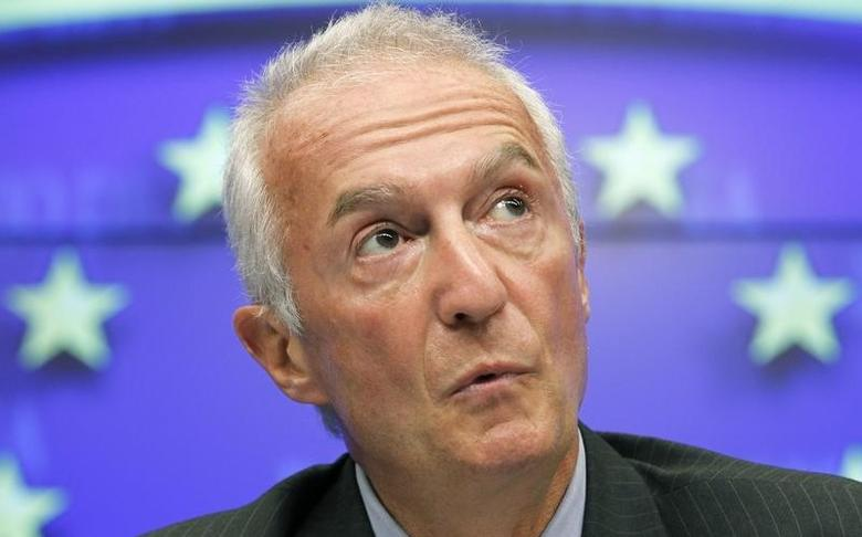 European Union's Counter-Terrorism Coordinator Gilles de Kerchove addresses a news conference in Brussels September 5, 2011. REUTERS/Thierry Roge