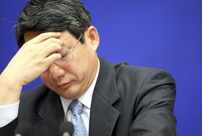 Liu Tienan, then deputy chairman of China's National Development and Reform Commission (NDRC), attends a news conference in Beijing in this February 27, 2009 file photograph. REUTERS/Stringer/Files