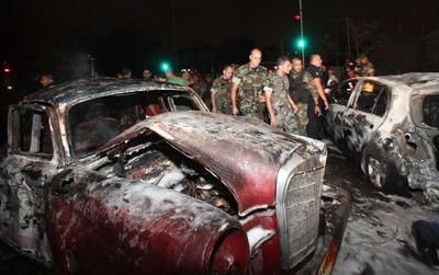 Suicide bomber hits Beirut
