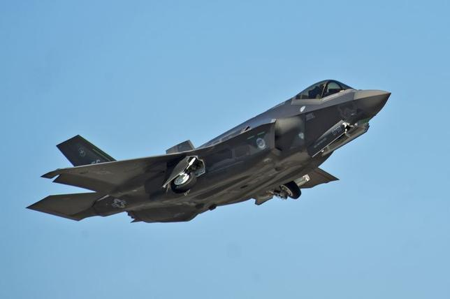 An F-35A Lightning II Joint Strike Fighter takes off on a training sortie at Eglin Air Force Base, Florida in this March 6, 2012 file photo.   REUTERS/U.S. Air Force photo/Randy Gon/Handout