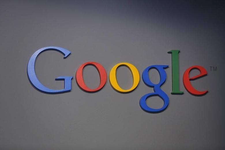 A Google logo is seen at the garage where the company was founded on Google's 15th anniversary in Menlo Park, California September 26, 2013. REUTERS/Stephen Lam/Files