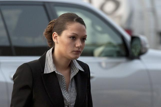 Dawn Nguyen arrives at Henrietta Town Court in Henrietta, New York in this January 8, 2013, file photo. REUTERS/Adam Fenster