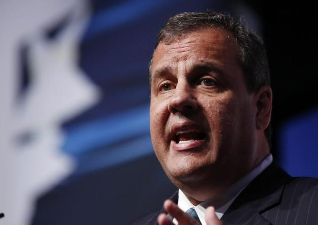 New Jersey Governor Chris Christie speaks at the second day of the 5th annual Faith & Freedom Coalition's ''Road to Majority'' Policy Conference in Washington, June 20, 2014.     REUTERS/Larry Downing