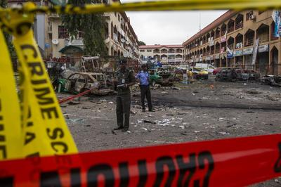 Nigerian mall bombed