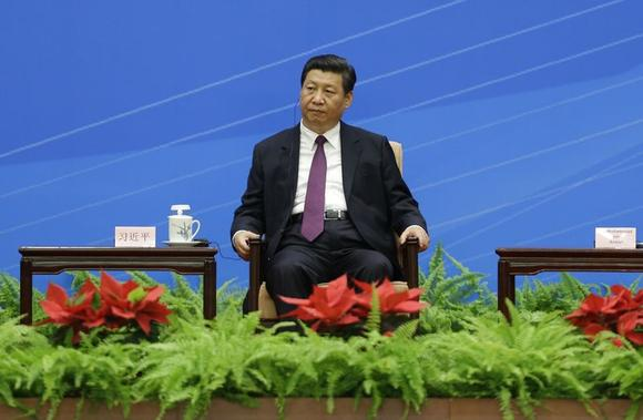 China's President Xi Jinping attends a conference marking the 60th anniversary of the ''Five Principles of Peaceful Coexistence'' at the Great Hall of the People, in Beijing, June 28, 2014. REUTERS/Jason Lee