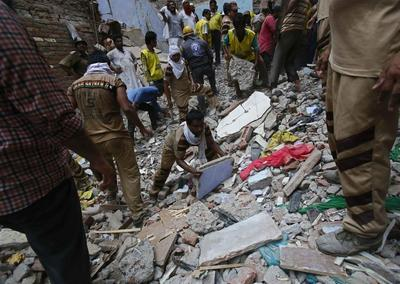 Building collapses kill 11 in India, lax monitoring...