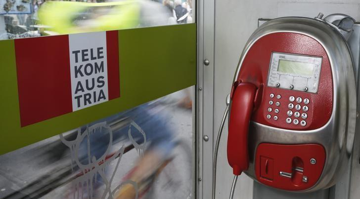 A Telekom Austria phone booth is seen in Vienna Vienna May 8, 2014. REUTERS/Leonhard Foeger