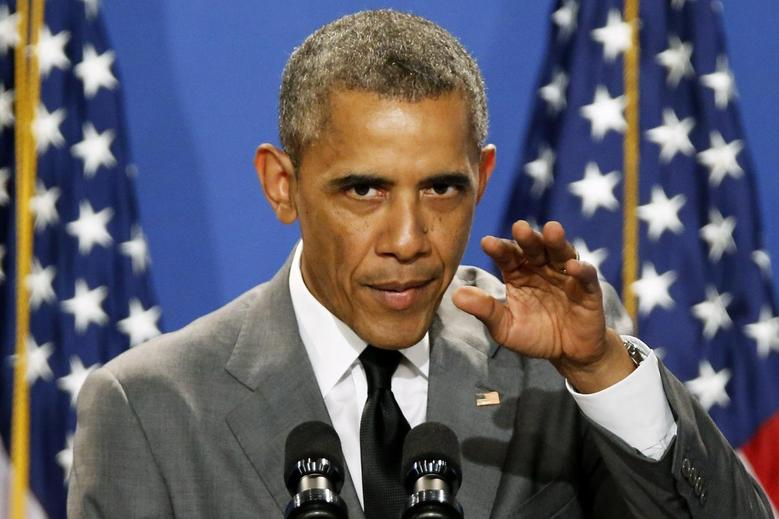 U.S. President Barack Obama addresses the White House Summit on Working Families in Washington June 23, 2014.  REUTERS/Jonathan Ernst